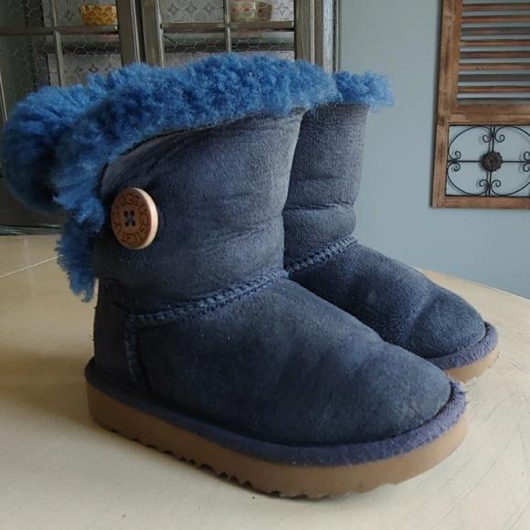 Bailey Button Navy Blue Boots   Poshmark